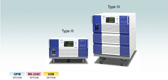 DC Power Supply (Series regulated system, CV/CC)