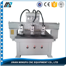 Air Cooled Spindle Hard Woodworking Multi-Head Cnc Router