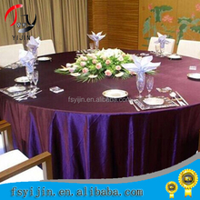 Modern design of embroidery chemical lace round table cloth 100% ployester