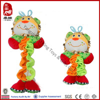 2014 new product soft toy lion plush pull string toys