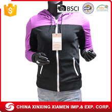 Wholesale Custom Black Sports Running Women Winter Jacket