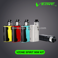 Custom detachable ABS Vzone wholesale e hookah accept paypal wax vaporizer ego ce5 Silk cloth Spirit 90w whole kit