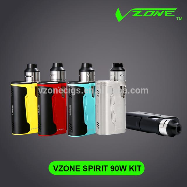 Custom detachable ABS Vzone wholesale e hookah accept paypal wax vaporizer ego ce5 Silk cloth Spirit 90w whole kit