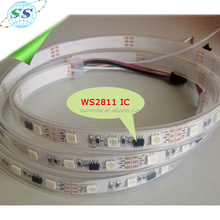 DC 12V input IP67 SMD 5050 LED strip with tube and ws2811 IC
