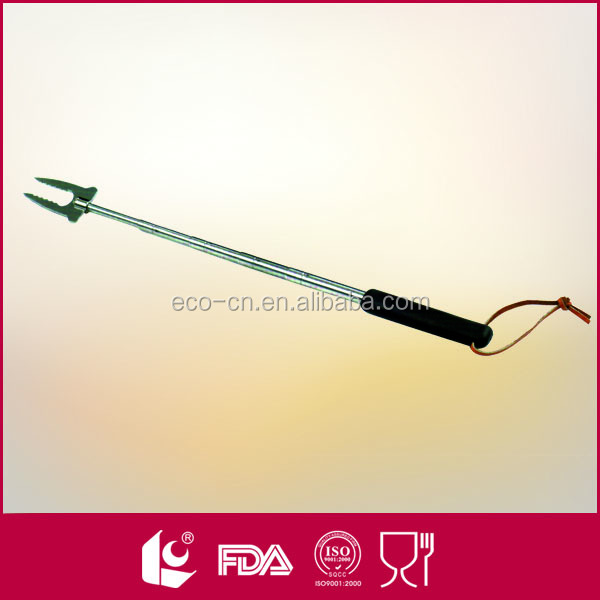 High quality bbq extendable portable telescopic fork
