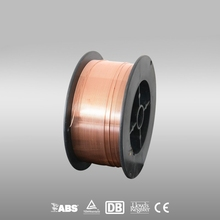 Copper cored co2 gas shielded welding wire aws 5.18 er70s-6