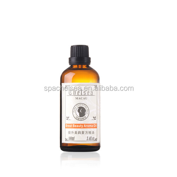 natural factory price best quality Breast enhancement massage oil