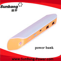 new products 2014 consumer electronic high quality high capacity fashion portable power bank with Mini nice packageing