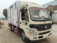 Foton refrigeration box cold room van freezer refrigerated truck for sale
