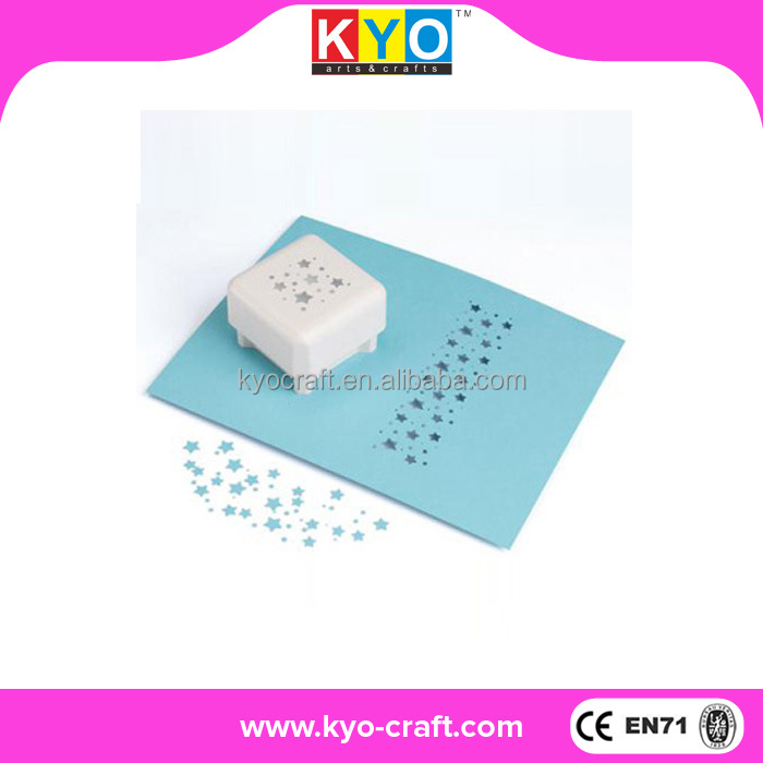 2015 new product popular school paper hole punch shapes