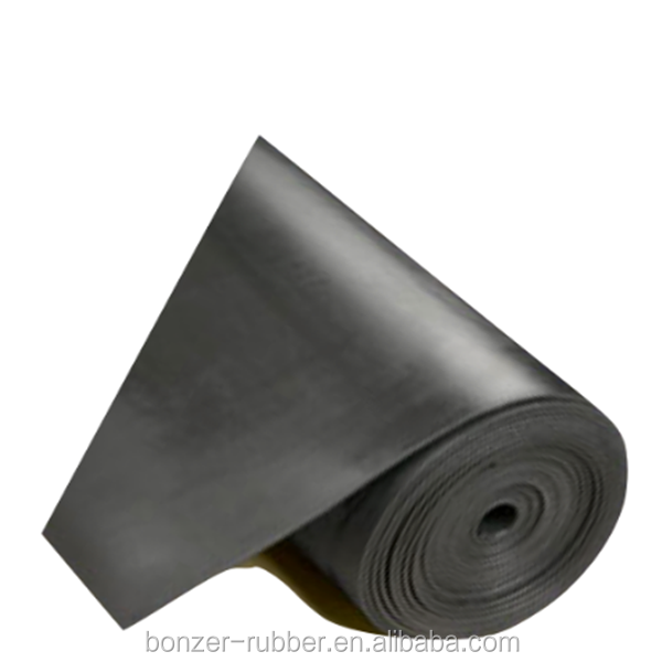 High tensile strength Natural rubber sheeting factory