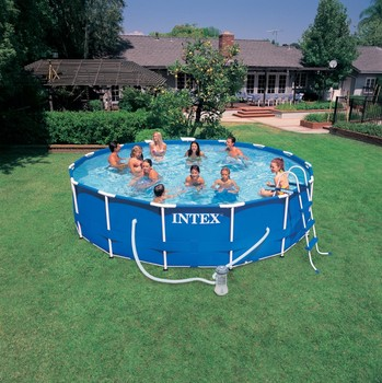 Best Quality Cheaper Intex Metal Frame Pool for Summer Season