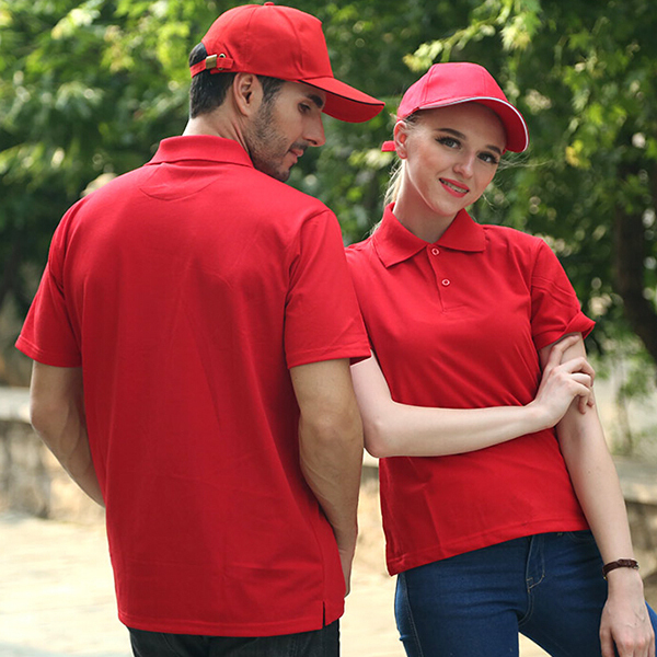 New Design KFC Fast Food Uniform Polo Shirt