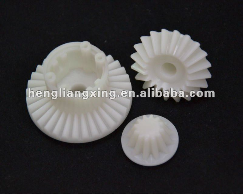plastic straight bevel gear kit for gearbox