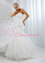 china wholesale 2014 western wedding dresses made to measure dresses from china