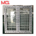 China supplier hot sale steel window grill design for house