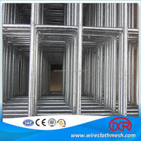 welded wire mesh fence panels in 6 gauge / g i wire mesh