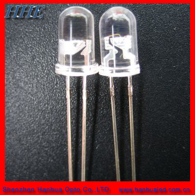 5mm round blue led light emitting diode used for led flashlighting