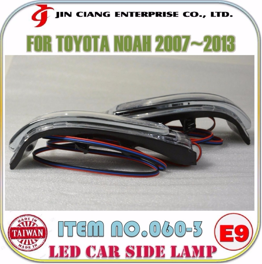 Car accessories Mirror Cover LED REAR VIEW SIDE LAMP FOR TOYOTA Rav4