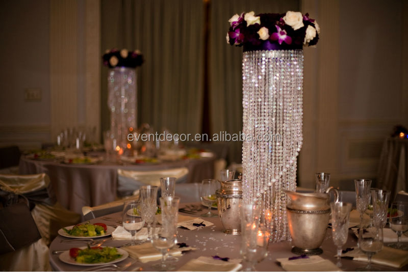 crystal chandelier table centerpieces for weddings buy table top chandelier centerpieces for. Black Bedroom Furniture Sets. Home Design Ideas