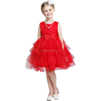 china wholesale kid clothing summer baby party girls one piece dress cute baby girls party dress