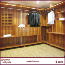Simplicity and slim walk in closets
