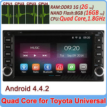 Ownice C200 Quad Core Cortex A9 Pure Android 4.4.2 car stereo player for toyota universal