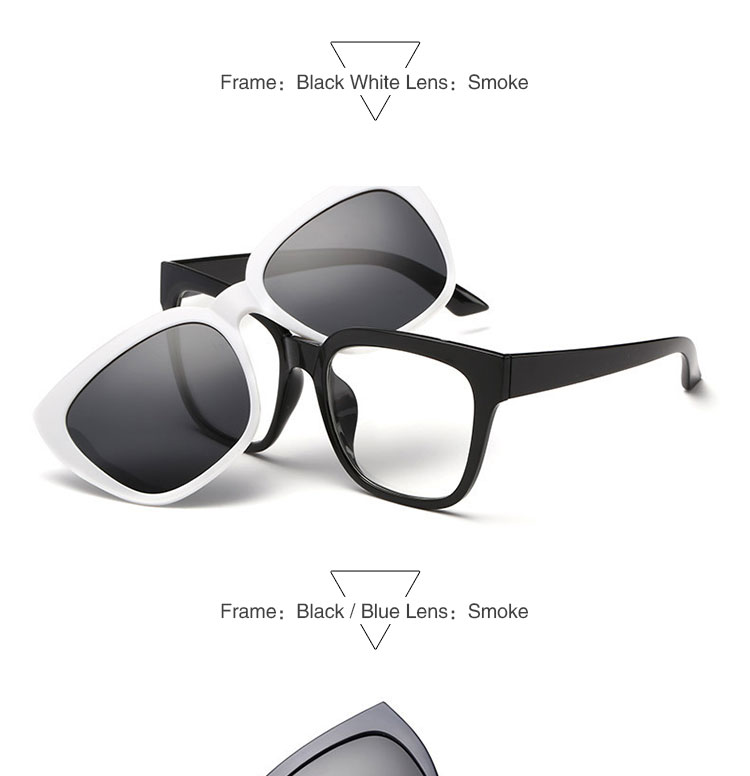 Eyeglasses Frame With Magnetic Sunglasses : Tr90 Eyeglasses Frames With Magnetic Polarized Sunglasses ...
