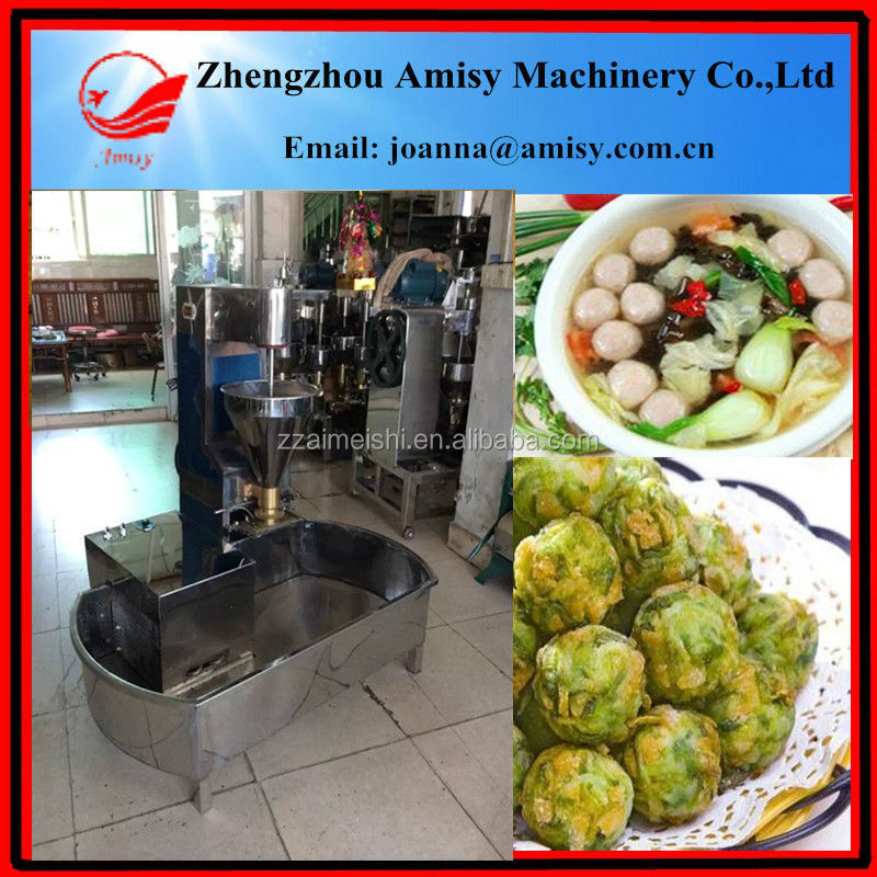 220Pcs/Min FISH meat ball making machinery