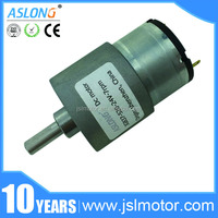 hot sale dc geared motor 12v 30 rpm dc Electric micro permanent magnet high torque motor