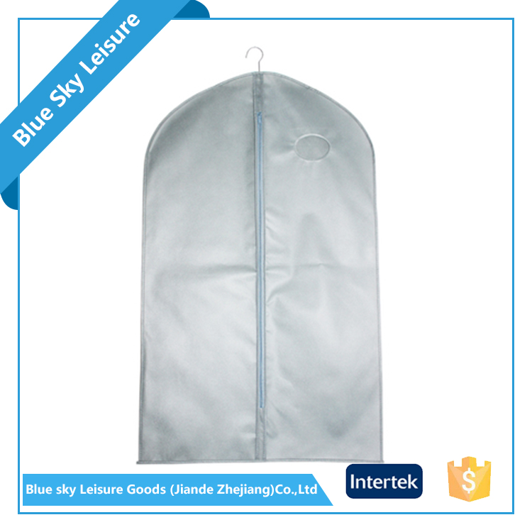 PP Non-woven Fabric Foldable Lightweight Hanging Travelers Garment Bag