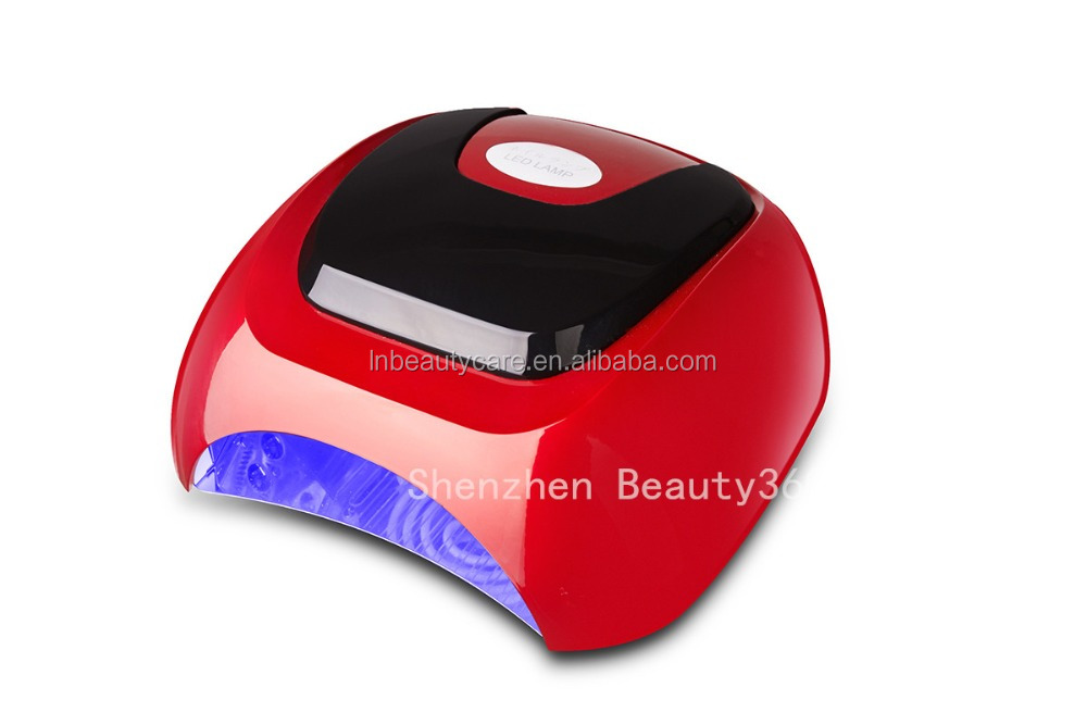 Newest High Power 48W Mixed LED UV CCFL Nail Light Machine with fan can cure all the gels