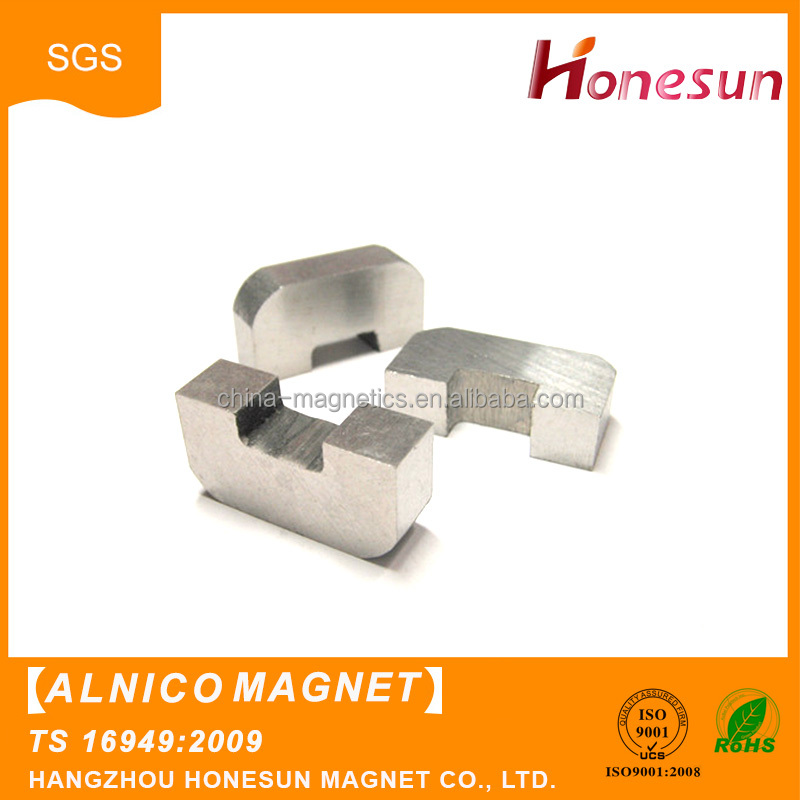 sintered/cast alnico pickup magnet
