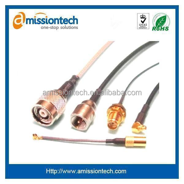 gold planted BNC cable