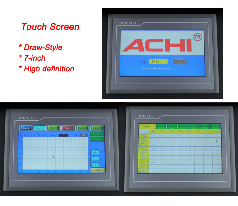 Hot Air ACHI IR12000 Best Digital Solder Station At Best Quality