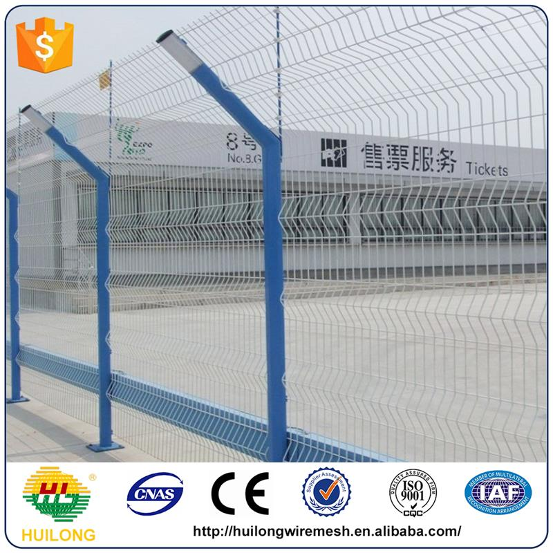 Alibaba Trade assurance color steel fence panel