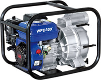 3 inch gasoline engine self priming sewage 7.5hp water pump
