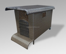 Wholesale High Quality Cheap Rattan Weather Proof Dog House kennel dogs and puppies for sale