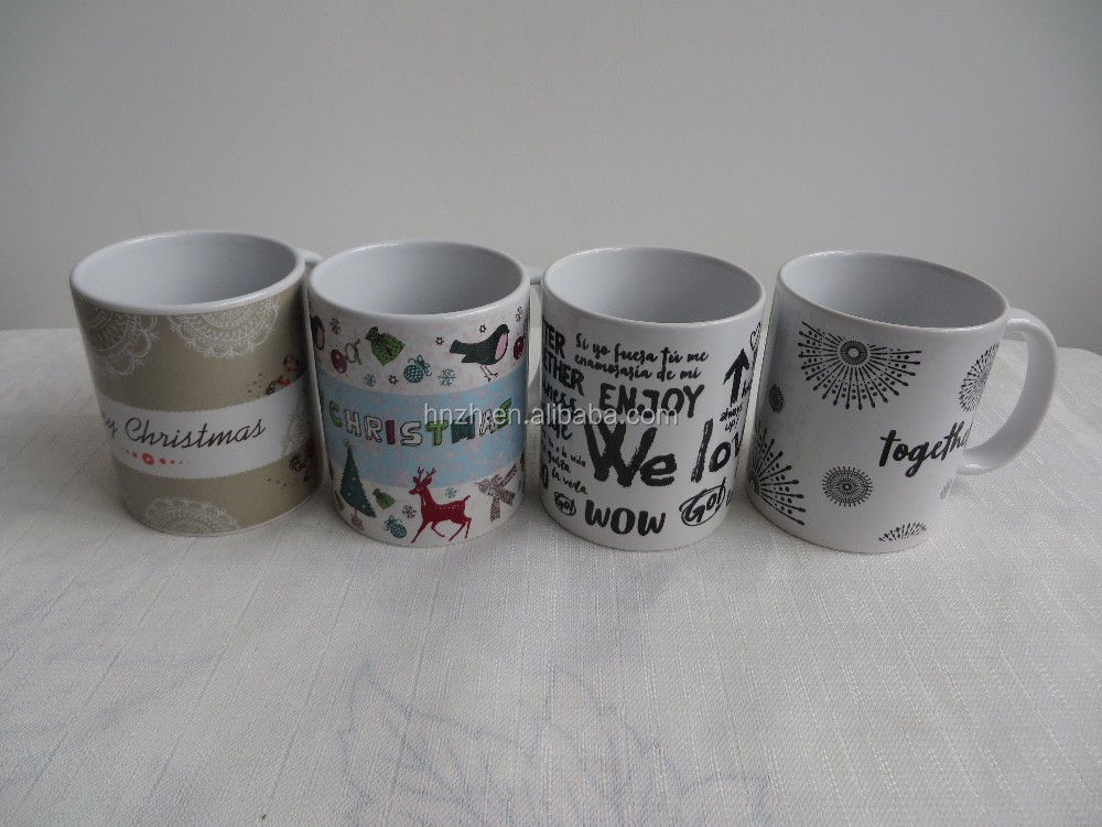 Chrsitmas little star custom printed coffee mugs cups printing bowl