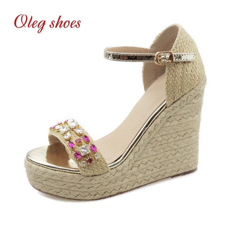 6ead6a594 China Shoes Rhinestone Sandals
