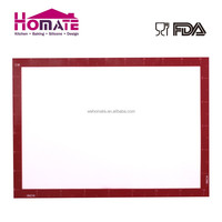 Glassesfiber silicone backing mat Brand new Non Stick Custom extra large silicone baking mat