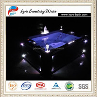 1950x1270x630mm massage 3 person outdoor indoor spa pool