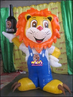 Custom inflatable cartoon/advertising inflatable animal
