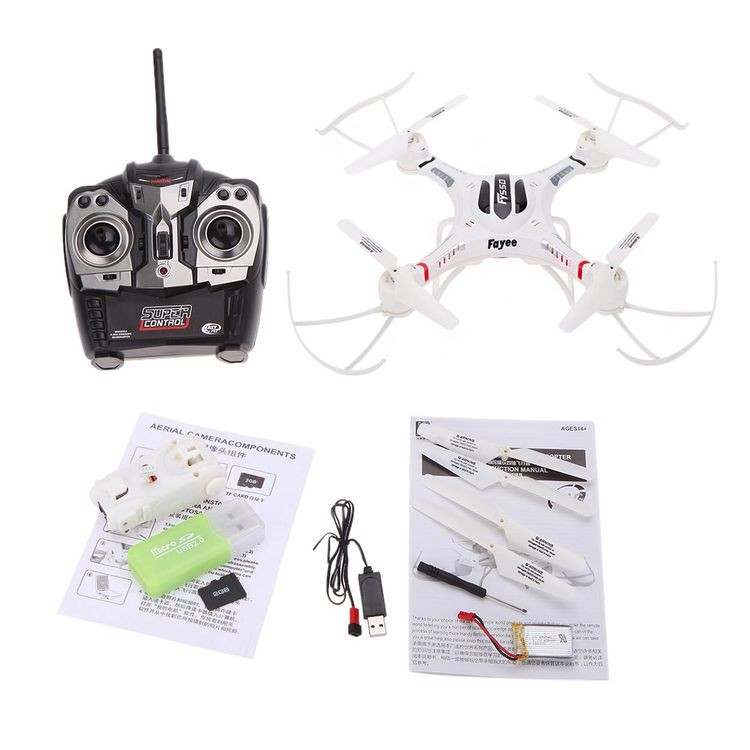1420550-2.4G 4CH Speed Phantom RC Quadcopter With 6-axis Gyro