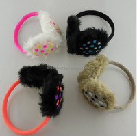 new fashion knitted winter fur hand muff