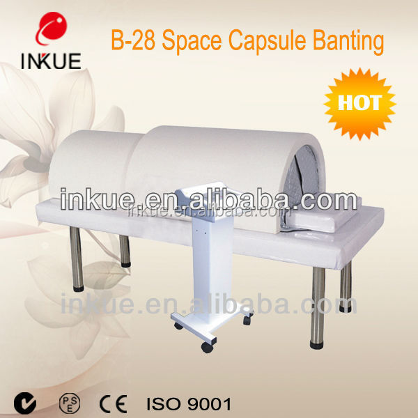 B-28 hot far infrared detox sauna spa capsules and weight loss slimming sauna steam capsule with CE approval