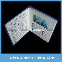 "2.4""/2.8""/3.5""/4.3""/7"" video brochure/video greeting card top selling products 2013"