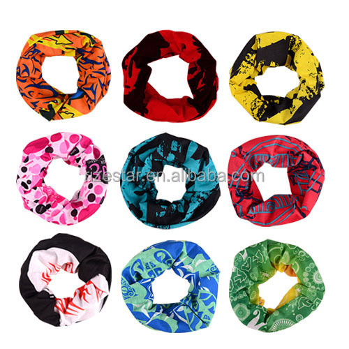 2017 New Design Colorful Seamless Scarf