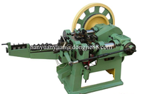2016 environmental recycle scrap steel rebar used nail making machine