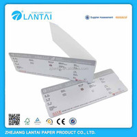 Factory price good quality custom thermal airline single card ticket
